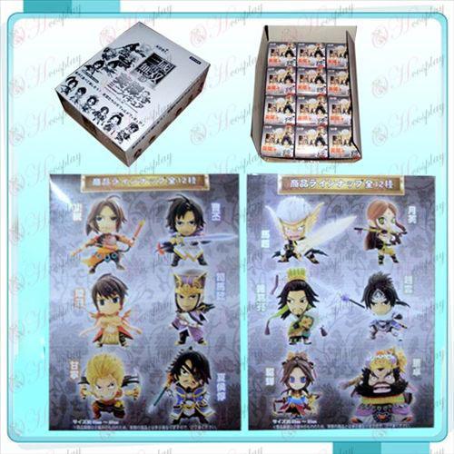 Genuine 12 Dynasty Warriors Doll