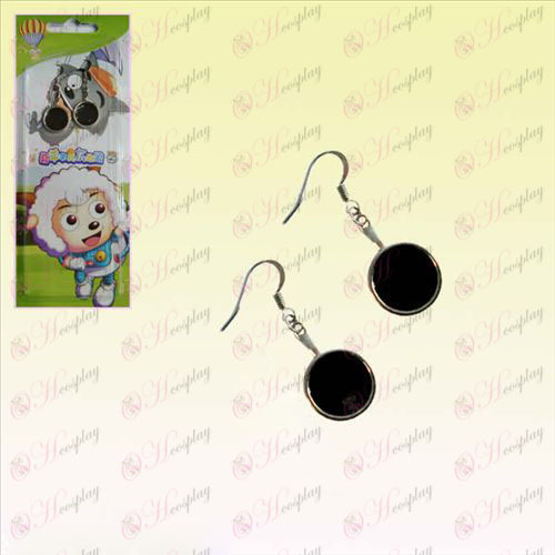 Pleasant pan Earrings (Black)