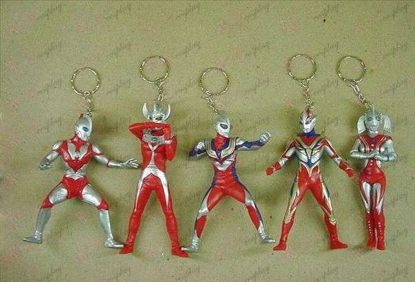 8 מטעם חמישה דגמי סופרמן Keychain