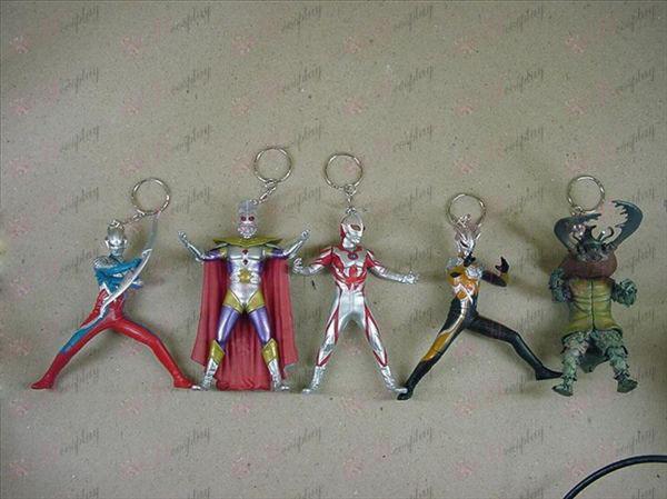 5 דור 5 דגמים Keychain סופרמן Ultraman אבזרים