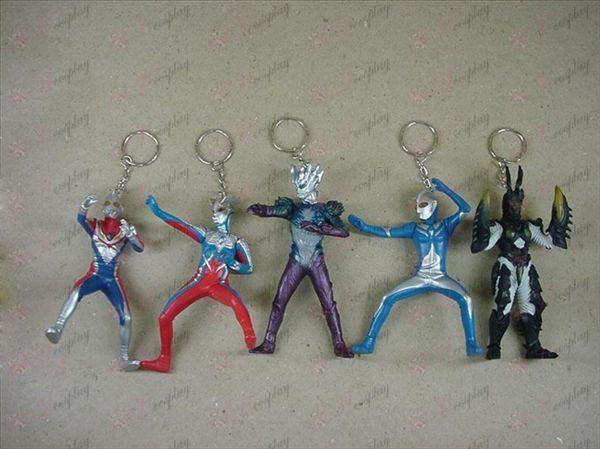 6 דור 6 סופרמן Ultraman אבזרים מחזיקי מפתחות