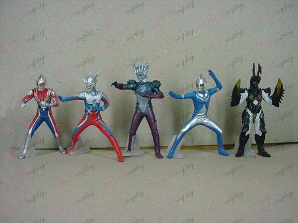 6 דור בסיס 6 סופרמן Ultraman אבזרים