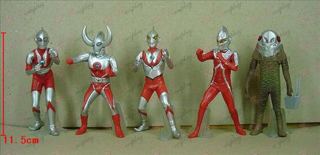 4 Generation 5 models Superman Ultraman Accessories Chassis (507)