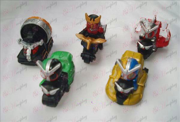 5 Modelle Ultraman Zubehör