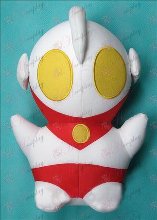 """בובת הקטיפה Ultraman אבזרים (גדול) 33 * 50 ס\""""מ"""