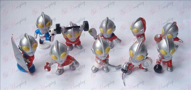 10 סופרמן Ultraman אבזרים בובה