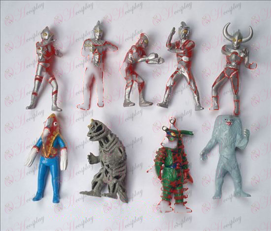 9 Superman Ultraman oprema Doll