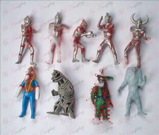 9 סופרמן Ultraman אבזרים בובה