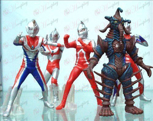 5 דגמים סופרמן Ultraman אבזרים דול