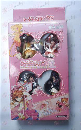 4 modeli Cardcaptor Sakura dodatki darilni paket majhne roke za početi