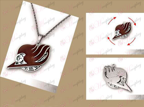 Fairy Tail Accessories necklace double rotatable