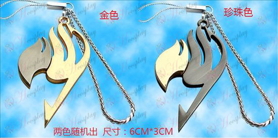 Fairy Tail Accessories-fairy flag color scanner chain