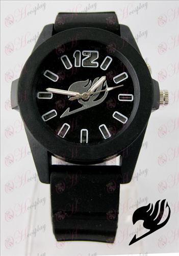 Fairy Tail Tilbehør farverige blinkende lys Watch - Black