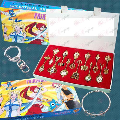 Fairy Tail 12 konstellationer hængende spænde jakkesæt