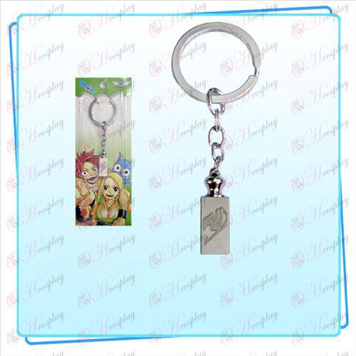 Fairy Tail Acessórios pesos Keychain