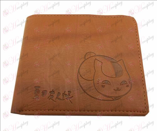 Blister Natsume's Book of Friends Accessories leather wallet
