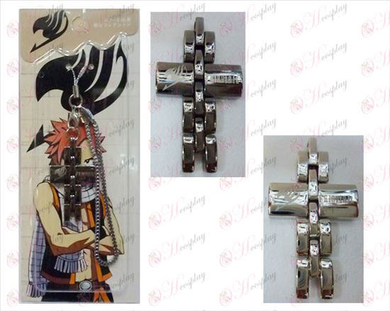 Fairy Tail Accessories Cross Strap in black and white