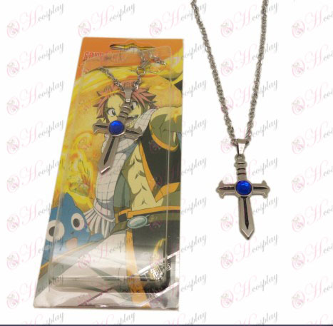 DFairy Tail Accessories Cross Necklace