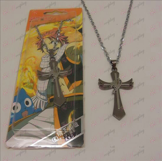 D Cross Necklace (Fairy Tail Tillbehör)