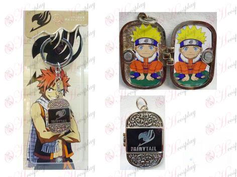 Fairy Tail Acessórios Photo Frame Keychain