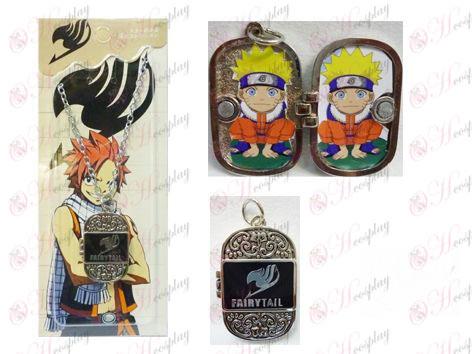 Fairy Tail Accesorios Photo Frame Serie 0 collar de la palabra