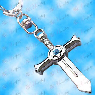 Fairy Tail Bagré crucifix accroché boucle