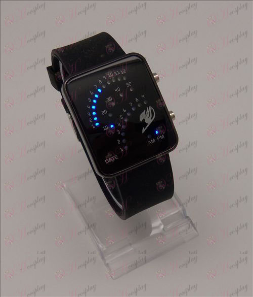 Fairy Tail аксессуары Сектор светодиодные часы