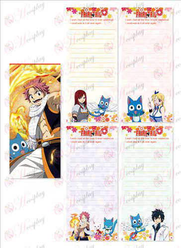 Fairy Tail Αξεσουάρ Long Scratch Pad 018