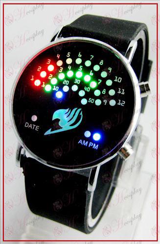 שעונים צבעוניים קוריאניים מאוורר LED - אבזרים זנב פיה