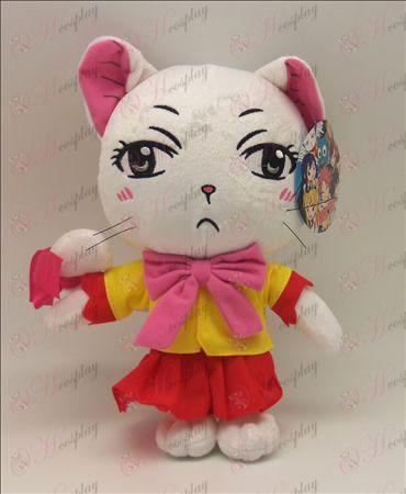 פלאש חתול זנב אבזרים לבן פייה