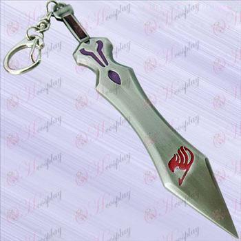 נשק חרב זנב אבזרים-AI Lusha פייה תלוי אבזם