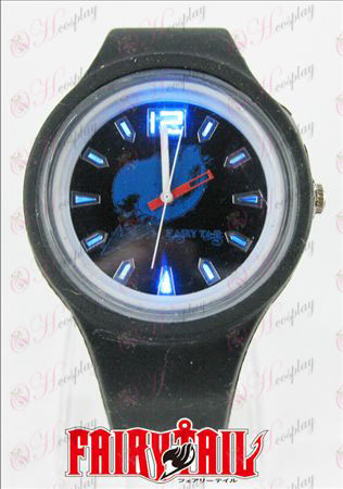 Coloridas luces intermitentes deporte reloj-Fairy Tail Accesorios