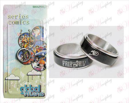 Fairy Tail accessoires Black Steel transporteur Ring