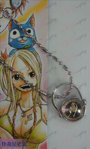 Black Steel Anello collana Fairy Tail Accessori oro