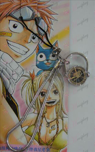 Black Steel Anello Strap Fairy Tail Accessori oro