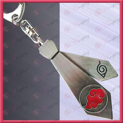Naruto - Red Cloud stropdas opknoping gesp (verplaatsbaar)
