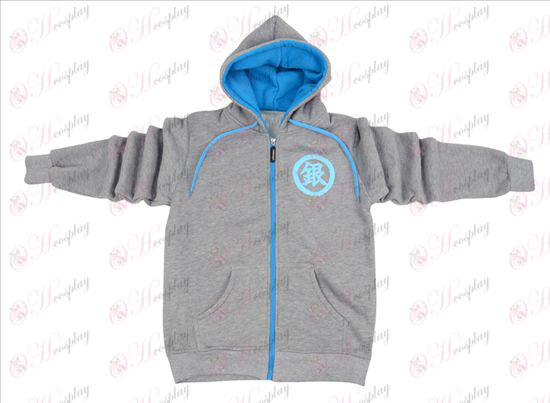 Gin Tama Accessories zipper hoodie sweater