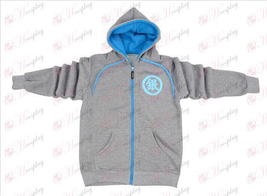 Gin Tama Tilbehør lynlås hoodie trøje