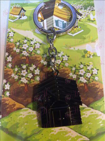 QQ Ranch Keychain (Black)