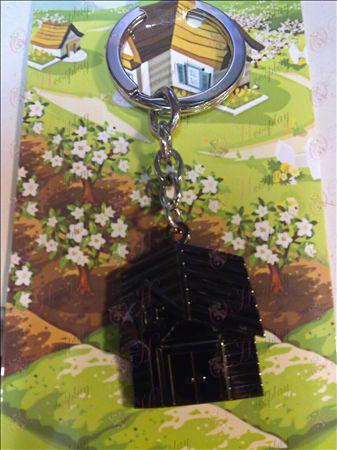 QQ Ranch Keychain (Black)