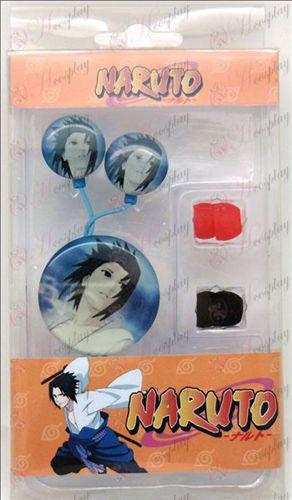 Headphones epóxi (Naruto - Sasuke)