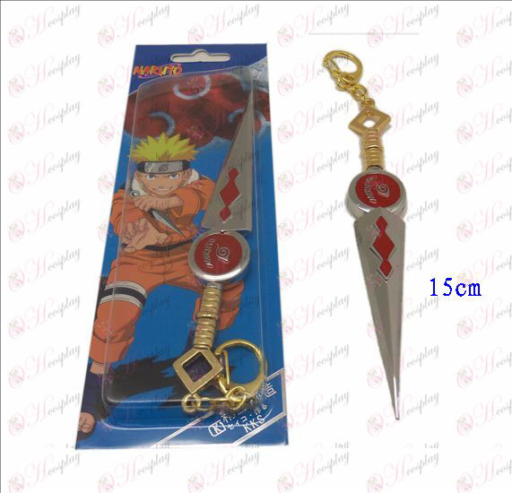 D Naruto knife buckle (red)