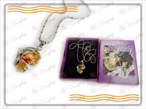 LOVELESS tres generaciones de la collar de mariposa (champán)