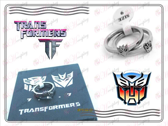 Transformers Accessories stainless steel couple rings (A section)