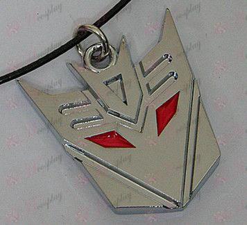 Transformers Аксесоари Decepticons Колие - значително - White