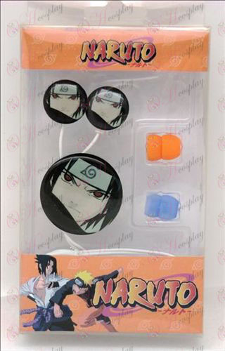 Casque époxy (Naruto - oeil de Sasuke)