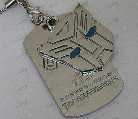 חבל רובוטריקים Autobots אבזרים shuangpai מכונה - נפט כחול - לבן
