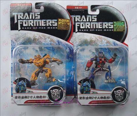 דמויות מפתח מקוריות של 2 אבזרים רובוטריקים