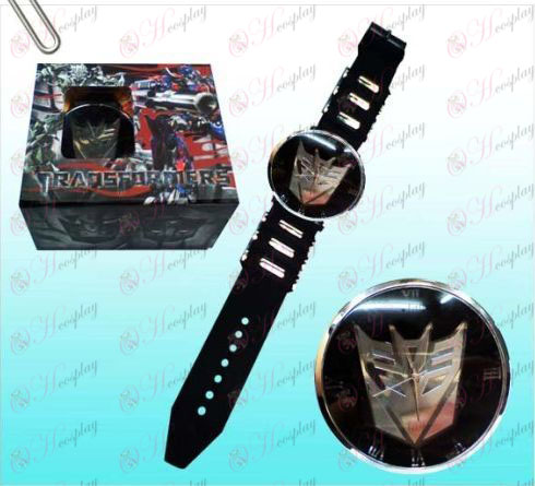 Transformatoren Accessoires Decepticons zwarte horloges