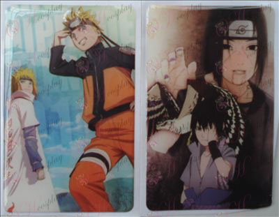 Naruto jelly sticker (10 / set)